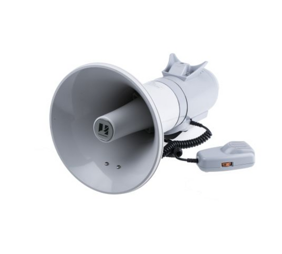 TOA Shoulder Megaphone 15W Megaphones in Grey