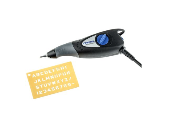 photo 1 of DREMEL® Engraver F0130290JN 3 Piece,  Engraving Tool For Metal, Glass, Wood, Plastics & Ceramics, Variable Depth Control