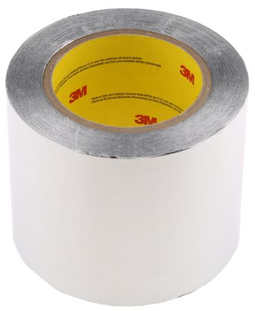 Photo of 3M 425 Conductive Aluminium Tape 102mm x 55m XT-0007-1728-7 Acrylic +149°C / -54°C