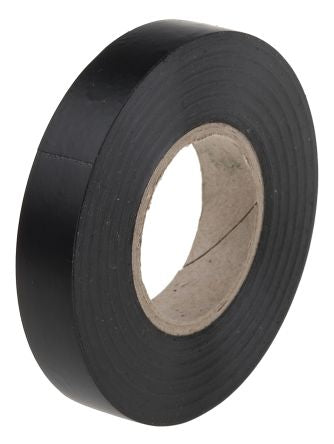 Photo of Black Electrical Tape 12mm x 20m PVC 0.13mm BS EN 60454-3-1/Type 2