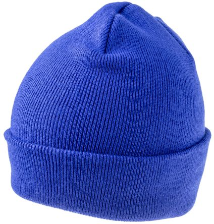 Photo of Blue Beanie Original Cuffed Beanie Multi-Functional Headwear Work Hat