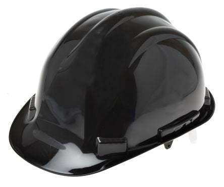 Photo of Black PP Helmet & Hard Hat PPE Hats EN 397