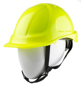 Photo of Yellow ABS Helmet & Hard Hat Ventilated Safety Helmets
