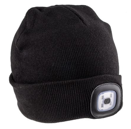Photo of Black Beanie Work Hat