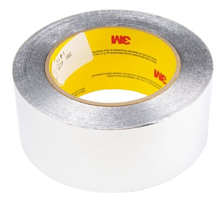 Photo of 3M 425 Conductive Aluminium Tape Foil 50mm x 55m 425 - 50,8MM (R06933) Acrylic +149°C / -54°C