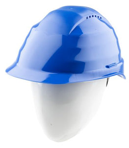 Photo of Alpha Solway Hard Hat Rockman Blue Ventilated Safety Helmets C6