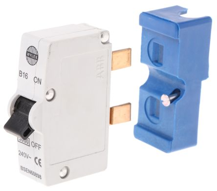 Wylex 16A 1 Pole Type B Miniature Circuit Breaker Plug In B Series