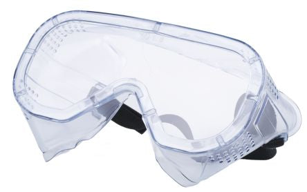 Photo of JSP Anti-Mist Coating Polycarbonate (PC) Safety Goggles,AGC010-301-300,Narrow Fit Goggles