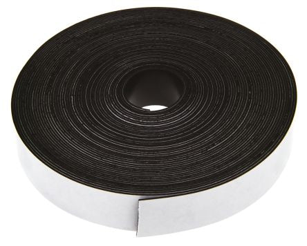 photo of 10m Magnetic Tape, Adhesive Back, 0.75mm Thickness