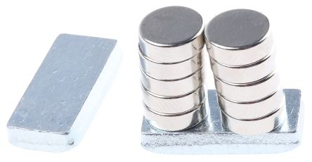 Eclipse Neodymium Magnet Disc Magnets 1.4kg Width 9mm Box of 10 N702-RB