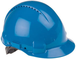 Photo of 3M™ Hard Hat PELTOR G3000 Safety Helmet Blue ABS Ventilated G3000 CUV-BB