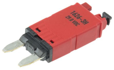 ETA 10A 1 Pole Automotive Thermal Circuit Breaker, 29V dc