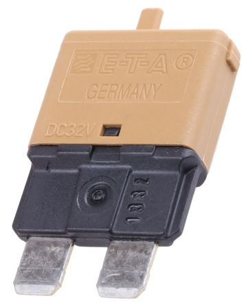 ETA 5A 1 Pole Automotive Thermal Circuit Breaker, 32V dc