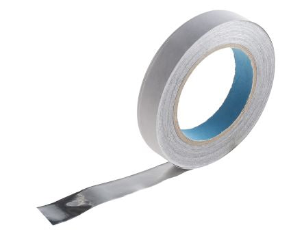 Photo of Wurth Elektronik Conductive Aluminium Tape 20mm x 33m Shielding EMI/RFI 3013320A Resin +155°C