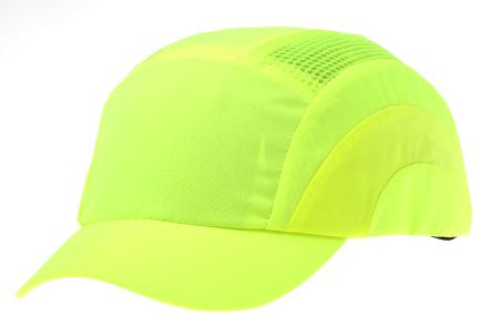 Photo of JSP Yellow Short Peaked Safety Cap, HDPE Protective Material