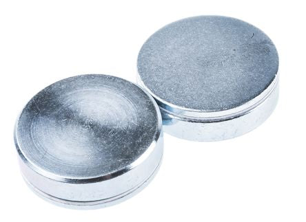 Eclipse Neodymium Magnet Shallow Pot Magnets 35kg Width 32mm Bag of 2 E767NEO/RS