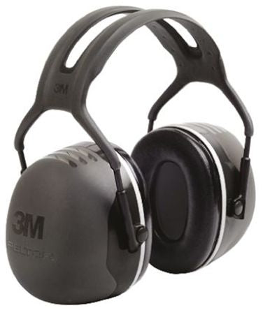 Photo of 3M™ Ear Defenders Peltor™ X5 37dB Ear Protectors & Headband X5A-SV Black