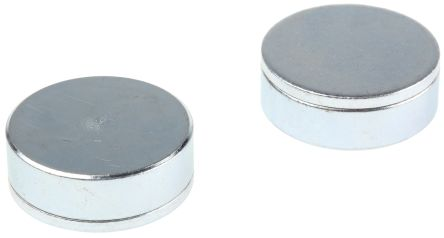 Eclipse Neodymium Magnet  Shallow Pot Magnets 20kg 7mm x 25mm Bag of 2 E766NEO/RS