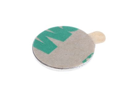 Eclipse Neodymium Magnet Adhesive Backed Disc Magnets 0.65kg 12mm Tube of 50 N853N