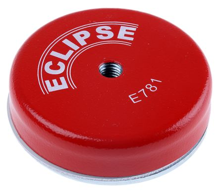 Eclipse 80mm Threaded Hole M10 Ferrite Magnet E781RS Shallow Pot Magnets