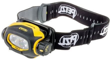 Petzl PIXA 3 ATEX LED Head Torch, 100 lm E78CHB  2 RS