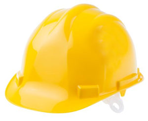 Photo of Yellow Hard Hat HDPE Endurance Safety Helmet PPE Hats EN 397