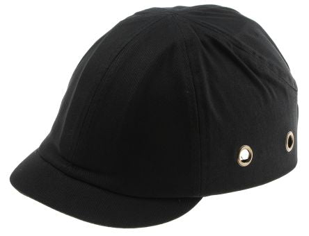 Photo of RS PRO Black Short Peaked Bump Cap, ABS Protective Material