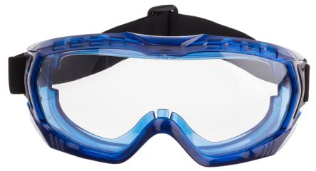Photo of RS PRO Clear Polycarbonate (PC) Safety Goggles,RS Pro Ultra Vista Unvented Premium Goggles