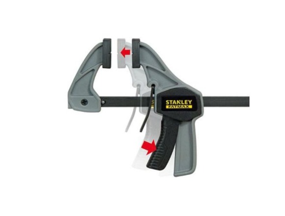Photo 1 of Stanley FatMax S Trigger Clamp 110mm Handheld Workshop Clamps UK FMHT0-83231