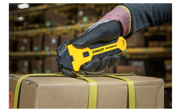 Stanley FATMAX® Safety Pallet Strap Cutter Pull Strapping Shrink Wrap Cutters UK