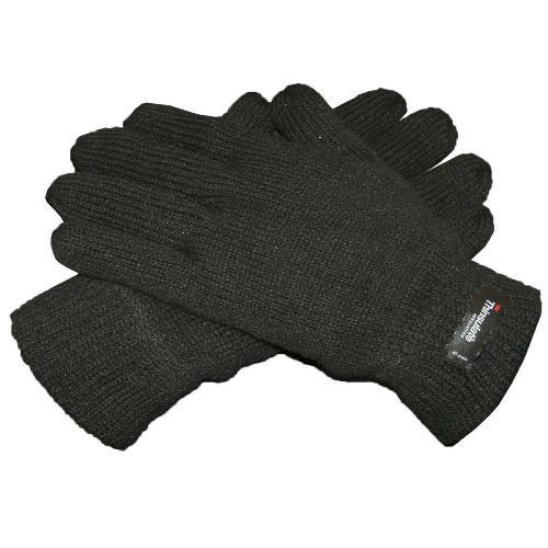 ProClimate Mens Thinsulate Thermal Insulated Knitted Gloves