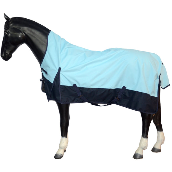 600DN Lite Torrent Waterproof Turnout Rug Half Neck 5'6 - 6'9 - Blue/Navy