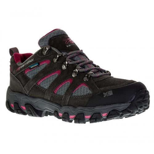 Ladies Karrimor Hiking Walking Shoes Waterproof Low Rise Trekking Shoe Trainers