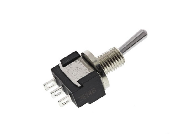 photo 1 of Miniature IP67 SPDT Toggle Switch, Mini Waterproof Panel Mount Switches KNITTER-SWITCH MTE 106 F