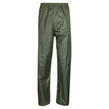 Mens Waterproof Overtrousers Sizes S-2XL Fishing Walking Hiking Over Trousers UK