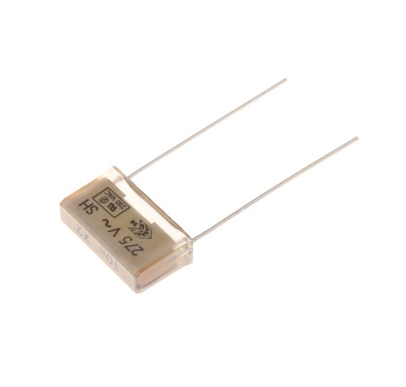 photo 1 of KEMET Paper Capacitor 10nF 275V ac ±20% Tolerance PME271M Through Hole +110°C Pack of 5