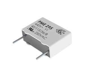 photo 1 of KEMET Paper Capacitor 2.2nF 480V ac ±20% Tolerance PME295 Through Hole +115°C