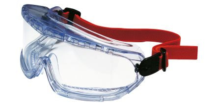 Photo of Honeywell V-MAXX Anti-Mist Coating, Scratch Resistant Clear Polycarbonate (PC) Safety Goggles,1006193,V-MAXX PC Goggles Indirectly Vented