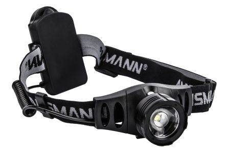 Ansmann HD7F LED Head Torch, 280 lm 1600-0106