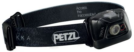 Petzl TIKKA LED Head Torch, 200 lm E93AAA RS