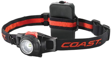 Coast HL7R LED Head Torch - Rechargeable, 240 lm HL7R