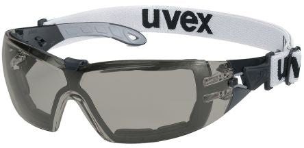 Photo of Uvex Safety Glasses Spectacles PHEOS Guard Grey Anti-Mist 9192-181 Eyewear
