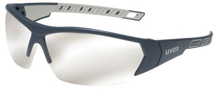 Photo of Uvex i-Works Safety Glasses Spectacles Silver Anti-Mist 9194-885 Eyewear