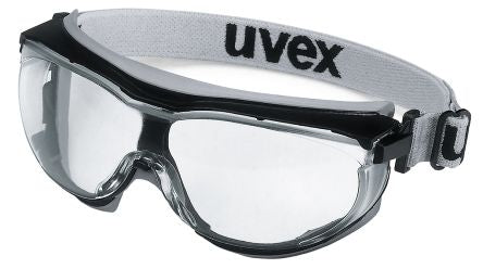 Photo of Uvex Carbonvision Anti-Mist Coating, Scratch Resistant Clear Polycarbonate (PC) Safety Goggles,9307-375,UVEX Carbonvision Safety Goggles