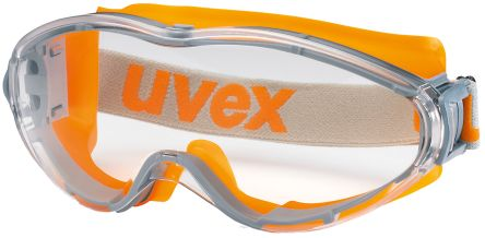 Photo of Uvex Ultrasonic Anti-Mist Coating, Scratch Resistant Clear Polycarbonate (PC) Safety Goggles,9302-245,UVEX Ultrasonic Safety Goggles