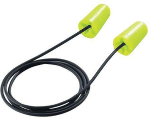 Uvex Disposable Green Corded Ear Plugs, 37dB, 100 Pairs