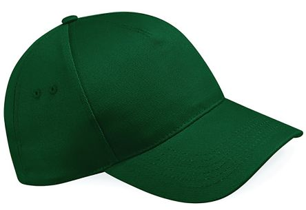 Photo of Green Cotton Cap Pro Ultimate 5 Panel Cap Work Hat
