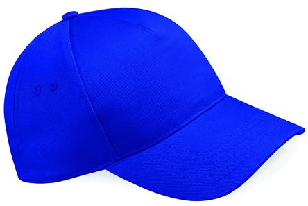 Photo of Royal Blue Cotton Cap Pro Ultimate 5 Panel Cap Work Hat