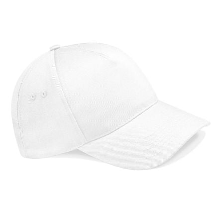 Photo of White Cotton Cap Pro Ultimate 5 Panel Cap Work Hat
