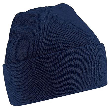 Photo of Navy Beanie Original Cuffed Beanie Multi-Functional Headwear Work Hat
